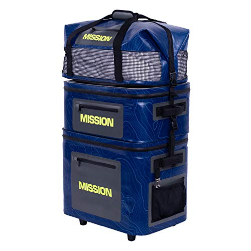 MISSION Boat Gear Hydra Hand Truck Stacking Cooler and Dolly