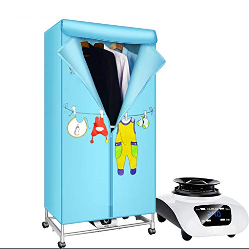 FORWIN UK- Secadora doméstica de Alto Rendimiento de 900 vatios de Secado rápido Muda Secadora de bajo Consumo con Control Remoto