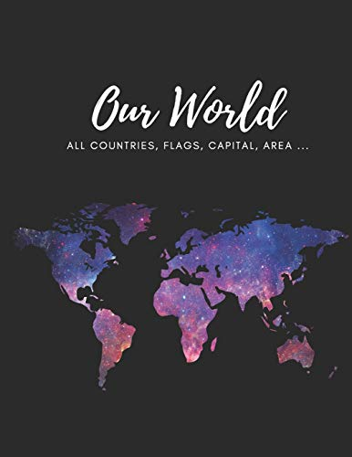 Our World all countries: Flags, Areas, Populations, Capitals, Language and Currency of the world.