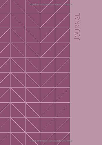Journal: A5, 120 Seiten, liniert, Softcover - pink