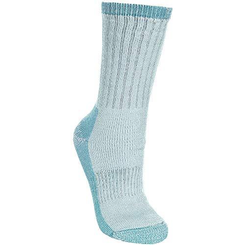 Trespass Damen Springer Socken/Wandersocken (40-43 EU) (Blau meliert)