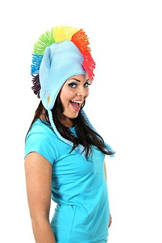 Elope My Little Pony Rainbow Dash Knit Laplander Cappello