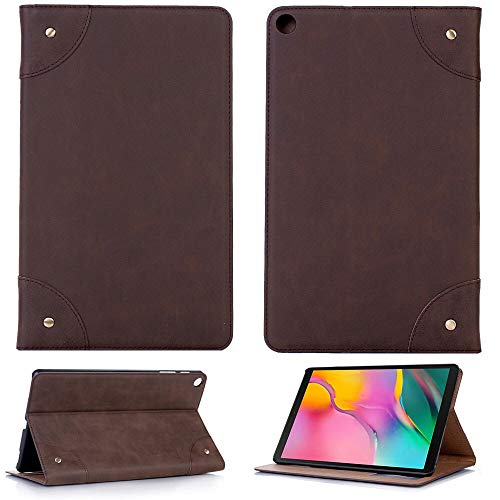 RZL PAD & TAB cases For Samsung Galaxy Tab S5e 10.5, Business Retro Leather Cover Auto Sleep Wake Smart Case Shockproof Case For Samsung Galaxy Tab S5e 10.5 SM-T720 SM-T725 (Color : DBR)