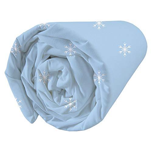 Frozen Wind Spirit - Sábana Bajera (100% algodón, 90 x 190 cm)