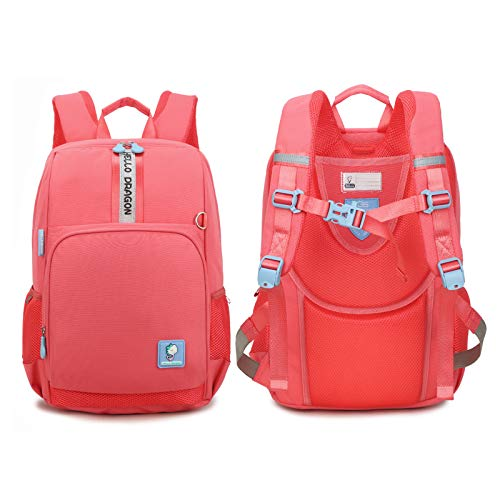 Tech School Backpack Weightless Teens Japanese Schoolbag, Lightweight Waterproof Student Backpack for Girls 9-13 Years Old