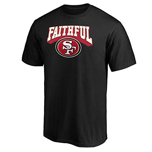 Fanatics NFL Football T-Shirt San Francisco 49ers Hometown Fanshirt The Faitful (XL)