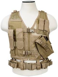 NC Star San Francisco Mall CTVC2916T Ncstar Tactical Tan Vest XS-S Kansas City Mall Childrens