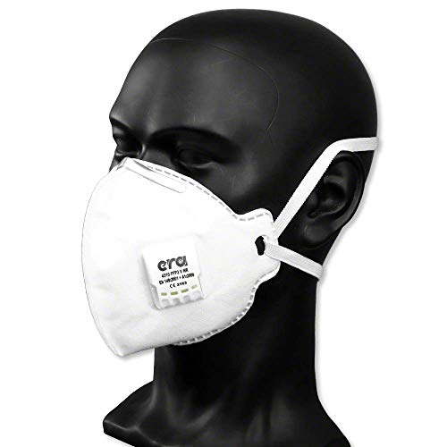 5 Stück | FFP3 Maske mit Ventil | Atemschutzmaske Staubmaske Mundschutzmaske | CE zertifiziert nach EN149 NB 2163 | + Extra