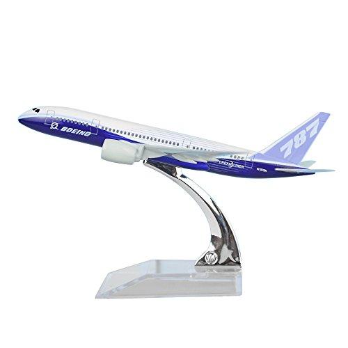 24-Hours Boeing 787 Alloy Metal Airplane Models Die-cast 1:400