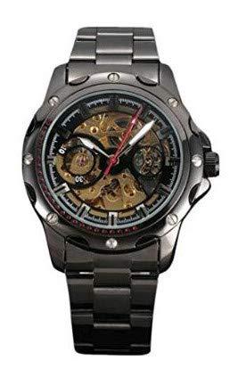 SJXIN Orologio meccanico di alta qualità, Shenhua / 9581 orologio meccanico automatico a forma di cavità retrò (Color : 4)