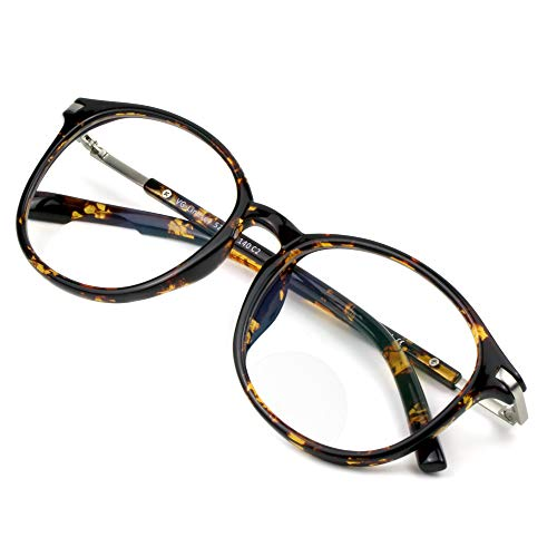 Bifocal Reading Glasses,Blue Light Blocking Glasses, Anti Eyestrain, Computer...