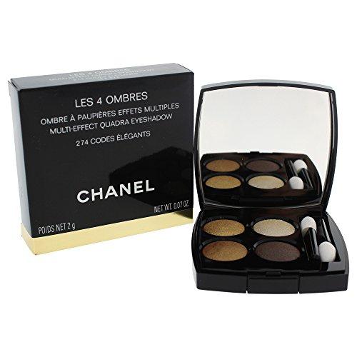 Chanel Les 4 Ombres #274-Codes lgants 2 Gr 1 Unidad 1.2 ml