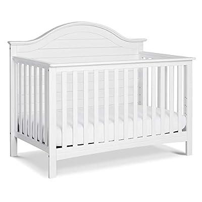 Carter's by DaVinci Nolan 4-in-1 Convertible Crib in White, Greenguard Gold Certified by DaVinci - DROPSHIP