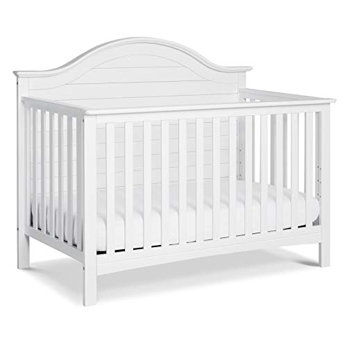 Carter's by DaVinci Nolan 4-in-1 Convertible Crib in White | Greenguard Gold Certified