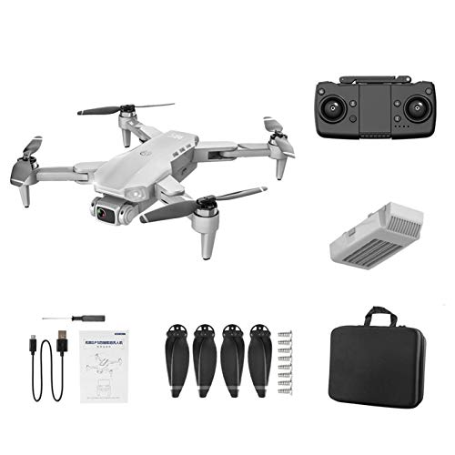 Dron plegable L900 con transmisión 4 K WiFi FPV en vivo, GPS dron con regreso a casa y control por gestos, retorno de una tecla, 4 canales, giro de 360 °, avión, dron plegable para principiantes