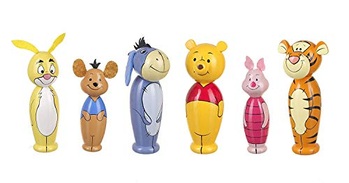 Orange Tree Toys Disney Winnie The Pooh - Bolos de Madera