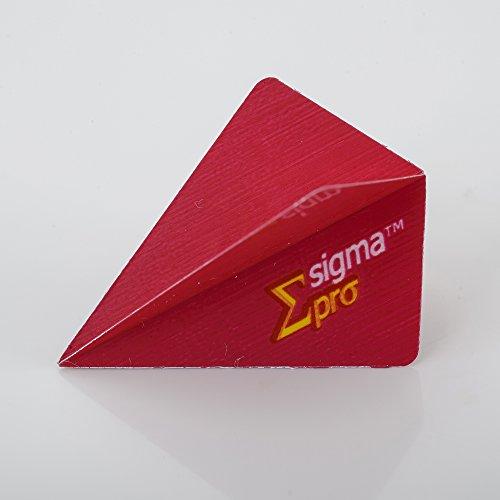 5 x Sets Unicorn Sigma Pro rot Dart Flights