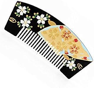 櫛かんざし 桜 花しおり かんざし 挿櫛 成人式 結婚式 着物 浴衣 和装 3色