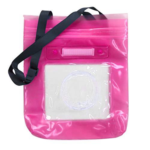anghaisty wasserdichte PVC Transparent Kamera Schutztasche mit Trageband passend für alle Arten von bekannten Kameras Unterwasserschutz Tasche Digitalkamera Objektiv Zubehör