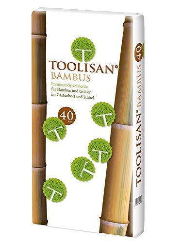 Bambuserde & Gräsererde Toolisan 1 Sack à 40 l