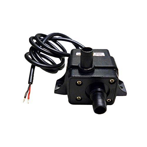 MMLC Miniatur-Wasserpumpe Mini Wasserölpumpe Tauchpumpe Pumpe DC12V 4,2W 3m 240L/H Bürstenlose Schwanzlose Elektrische Minipumpe für Brunnen Aquarium und Modellbau (A)