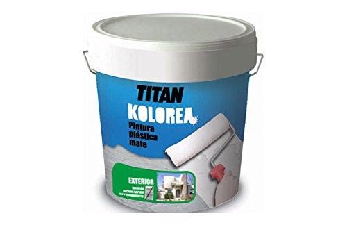 Titan M100528Paint–plastica Decor Cofac opaca facciata 20kg