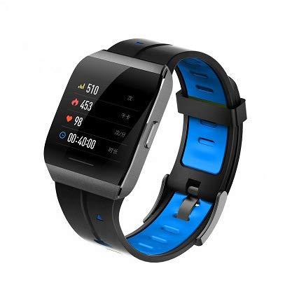 ZHWJH-W Smart Watch, Mannen 1.3 Inch IP68 Waterdichte Hartslagmeter Fitness Tracker Stappenteller Slaapmonitor voor Iphone Android
