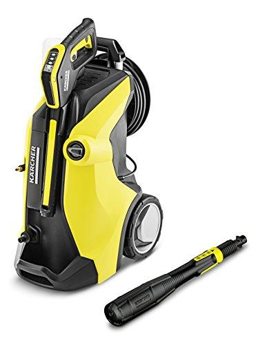 Kärcher Hochdruckreiniger K 7 Premium Full Control Plus (Druck: 20-180 bar, Fördermenge: 600 l/h, mit Schlauchtrommel, 3-in-1 Strahlrohr, Plus Power Pistole)