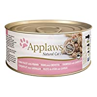Applaws Tuna with Prawn Tin is a premium complementary cat food made using only the natural ingredients listed on the label For cats that deserve to be spoilt Applaws is a completely natural complementary pet food for cats