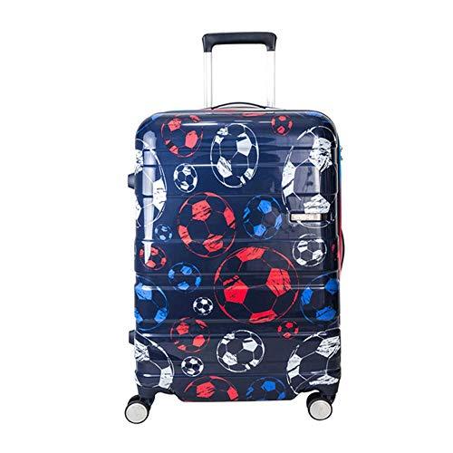 Ultra-lichte vierwielige roterende koffer, 25-inch TSA-wachtwoordvergrendelingskoffer met vier wielen (47 * 69 * 30 CM)