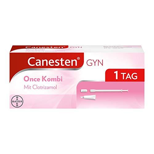 CANESTEN GYNOnceKombi,Vaginaltablette und Creme zur Behandlung von Scheidenpilz mitClotrimazol& Milchsäurezusatzschneller