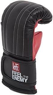 KRF Feel The Enemy 0013148 rękawice treningowe, uniseks, dla dorosłych, czarne, S