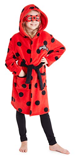 Disney Miraculous Ladybug Dressing Gown for Girls