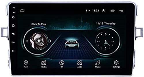 Android 10.0 Car Stereo Radio Double Din SAT NAV Compatible con Toyota Verso 2011-2016 Navegación GPS Pantalla táctil de 9 pulgadas Sistema de navegación GPS Reproductor multimedia con 4G RDS DSP