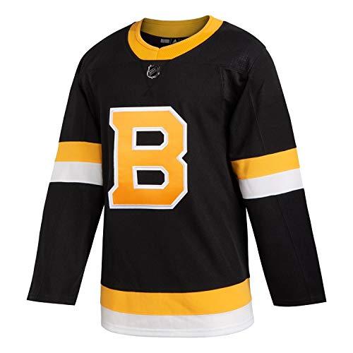 adidas Boston Bruins Authentic Pro NHL Trikot Alternate Schwarz, 56 (2XL)