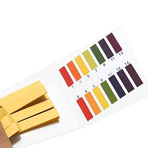 80 strisce per test del pH, per acquario e laghetti, cartine per test del pH e del litmus