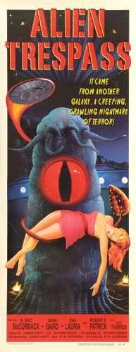 Alien Trespass Poster 03 Metal Sign A4 12x8 Aluminium