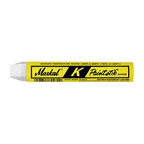 """LACO Markal 超耐熱マーカー """"ペイントスティック K"""" 白 983— 81820"""