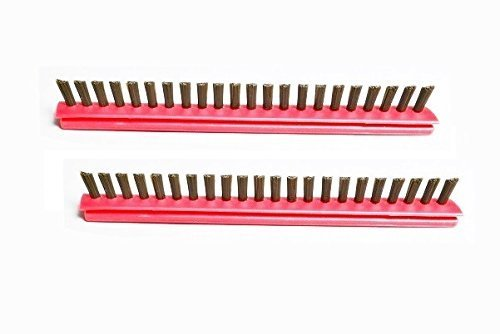 Riccar Upright Vacuum Metal Brush Roller Inserts { 2 Inserts } Part # B012-2400B
