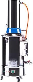 5升实验室纯净水器过滤器,每小时电动蒸馏器净水器,实验室DIY科学蒸馏器,304不锈钢蒸馏器,5L