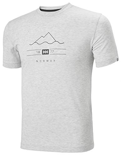 Helly Hansen heren T-shirt Skog Graphic T-shirt