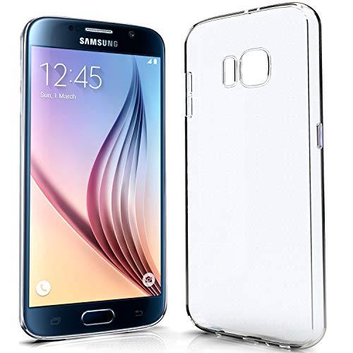 NewTop Cover Compatibile per Samsung Galaxy Note S6/S7/Edge/Plus, Custodia Morbido TPU Clear Protettiva Silicone Trasparente Slim Case Posteriore (per S6)