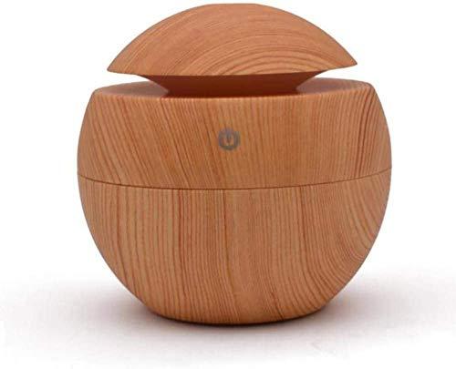 Huis luchtbevochtiger Aromatherapie luchtreinigers Wood Grain Ultrasone luchtbevochtiger aromatherapie Machine bevochtiger Mute Slaapkamer Fragrance Lamp Plug-in huishouden