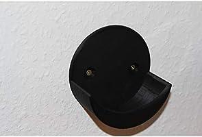 Suporte Apoio Stand De Parede Amazon Alexa Echo Dot 3 (PRETO PARAFUSO E BUCHA)