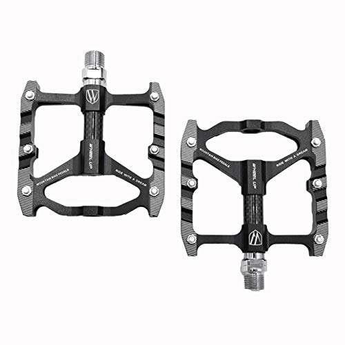 GLHMOGM Bike Pedals High-Strength Non-Slip MTB Bicycle Pedals, Lightweight Aluminum Alloy Road Bike Pedals BMX Bike Pedals