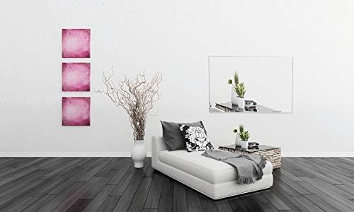 Infrarot Glasheizkörper 60x80cm 600 Watt Spiegel kaufen  Bild 1*