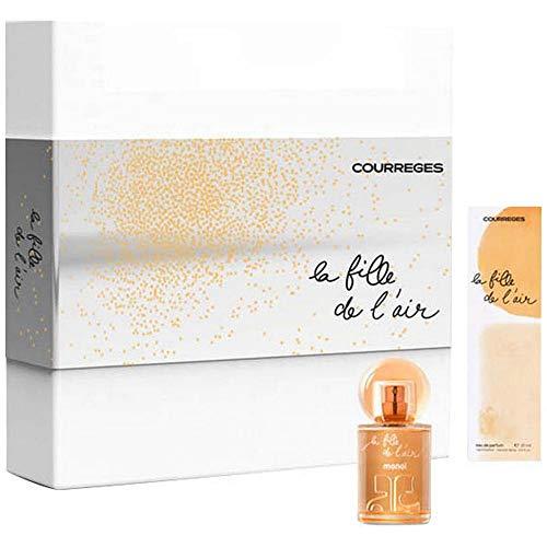Courreges Courrã¨Ges La Fille De L'Air Eau Parfum 50Ml + Eau Parfum 20Ml 70 g
