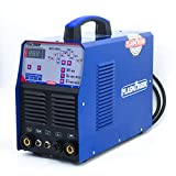 SUSEMSE <span class='highlight'>TIG</span>350P 350A AC/DC Pulse <span class='highlight'>Aluminum</span> <span class='highlight'>TIG</span>/Stick ARC <span class='highlight'>Welder</span> with Digital Control, IGBT Square Wave Inverter, high Pulse Frequency, 220V, TSE350P,Blue
