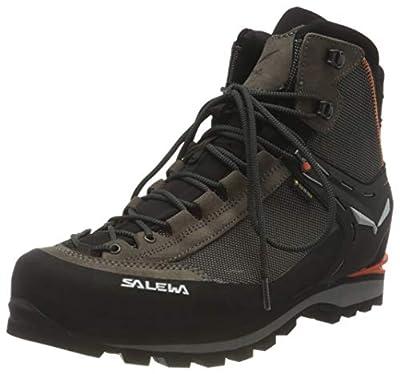 Salewa Crow GTX Boot - Men's Wallnut/Fluo Orange, 7.5