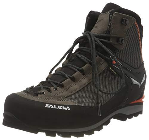 Salewa Herren MS Crow Gore-TEX Trekking- & Wanderstiefel, Wallnut/Fluo Orange, 45 EU